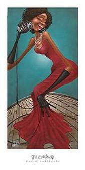 Jazmine (18 x 36) Art Print - David Garibaldi
