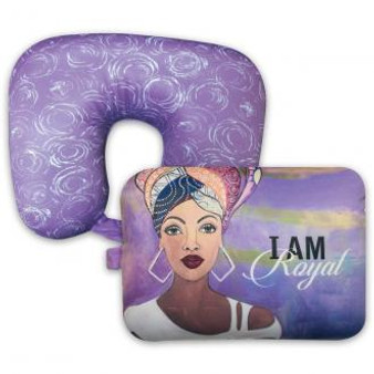 "I Am Royal Convertible Neck Pillow--Sylvia""GBaby""Cohen"