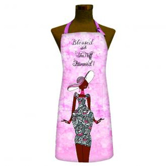 Blessed and Sho Nuff Favored! Apron-- Kiwi McDowell