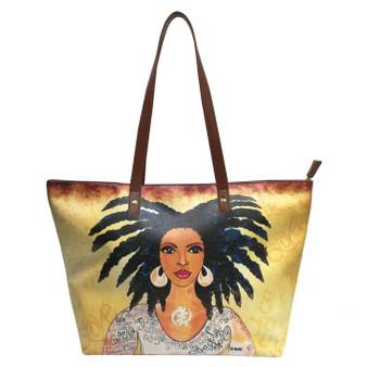 """Nubian Queen Handbags--Sylvia""""GBaby""""Cohen"""