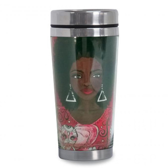 I Am Powerful (DST Inspired)Travel Mug--GBaby