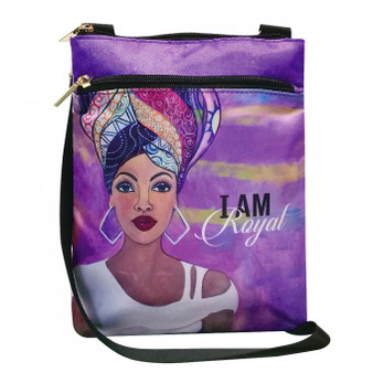 "I Am Royal Travel Purse-- Sylvia""Gbaby""Cohen"