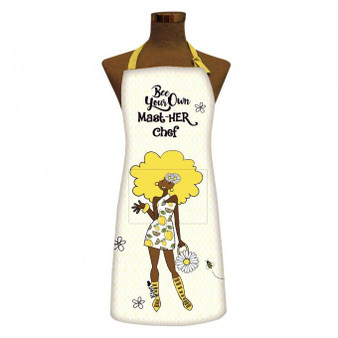 Bee Your Own MastHER Chef Apron Aprons-- Kiwi McDowell