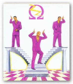 Omega Pride (8x10) Art Print-- Johnny Myers