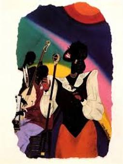 Lady Sings (Mini) Art Print--Leroy Campbell