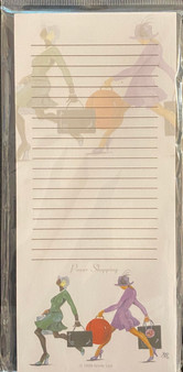 Power Shopping - Magnetic Note Pad - Gbaby
