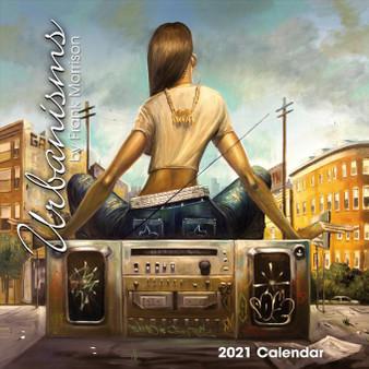 2021 Urbanisms 12 x 12 Wall Calendar by Frank Morrison