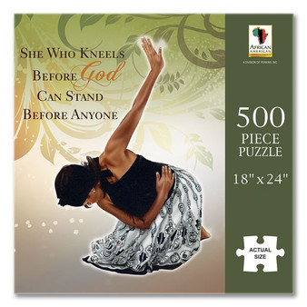 She Who Kneels (500 Pieces) Puzzle