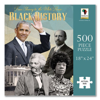From Slavery to the White House (500 Pieces) Puzzle