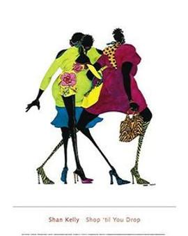 Shop 'til You Drop Art Print - Shan Kelly