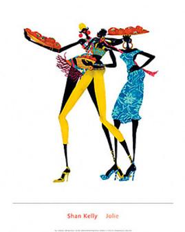 Jolie Art Print - Shan Kelly