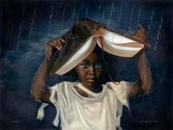 Sheltered Art Print - Edwin Lester