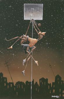 Alpha Fly Slam Art Print - Frank Morrison