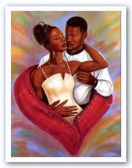For You I Will - Delta Sigma Theta (36 x 24) Art Print - Johnny Myers