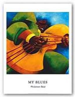 My Blues (8 x 10) Art Print - Philemon Reid