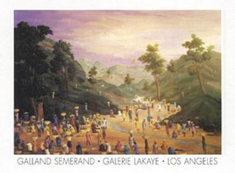 Sunset Art Print - Semerand