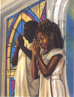 Daily Prayer Art Print Kevin A. Williams - WAK