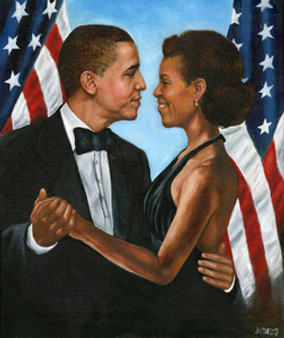 The First Dance (Obama) Limited Edition Art - Dwight Juda Ward