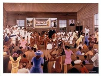 Gospel Travellers Art Print - Ernest Watson