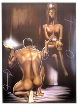 Soul Mates (16.5 x 12) Art Print Kevin A. Williams - WAK