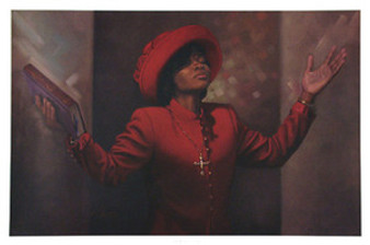 Blessed and Highly Favored (12 x 16) Art Print - Henry Lee Battle