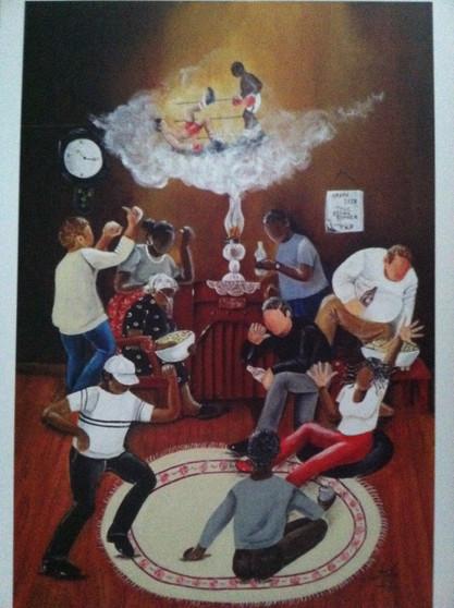 TKO The Brown Bomber Print - Annie Lee