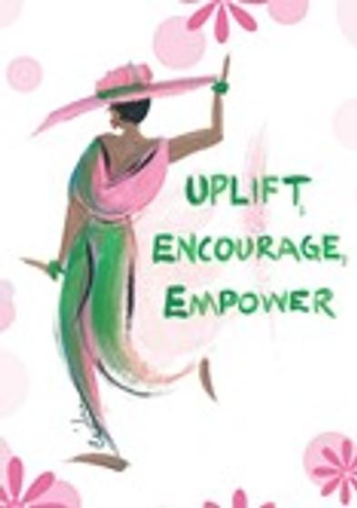 Uplift,Encourage,Empower  Magnet--Cidne Wallace