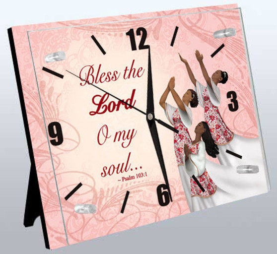 Psalm 103:1/Dancers Wall Clock