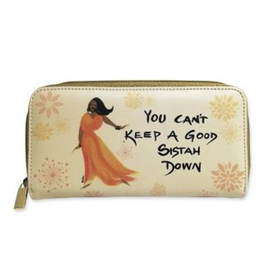 You Can't Keep A Good Sistah Down Long Wallets-- Cidne Wallace