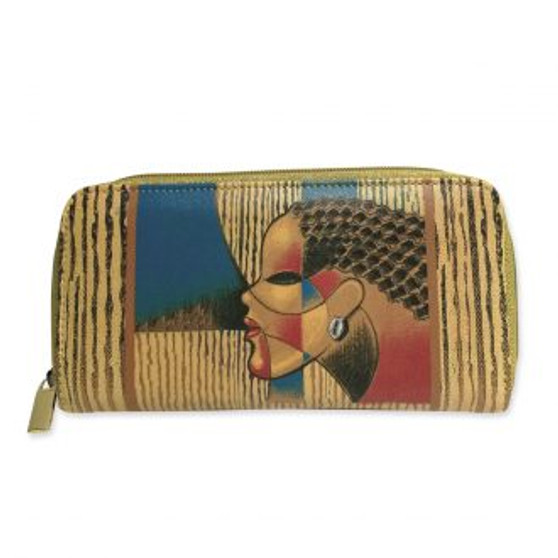"""Composite Of A Woman Long Wallets-- Larry """"Poncho"""" Brown"""
