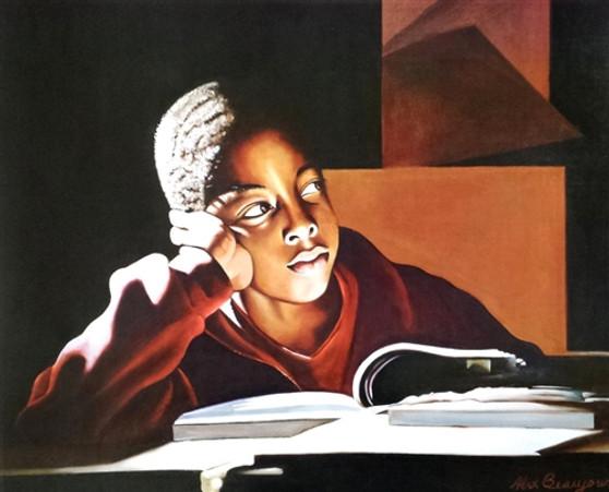 The Beginning Art Print-- Alix Beaujour