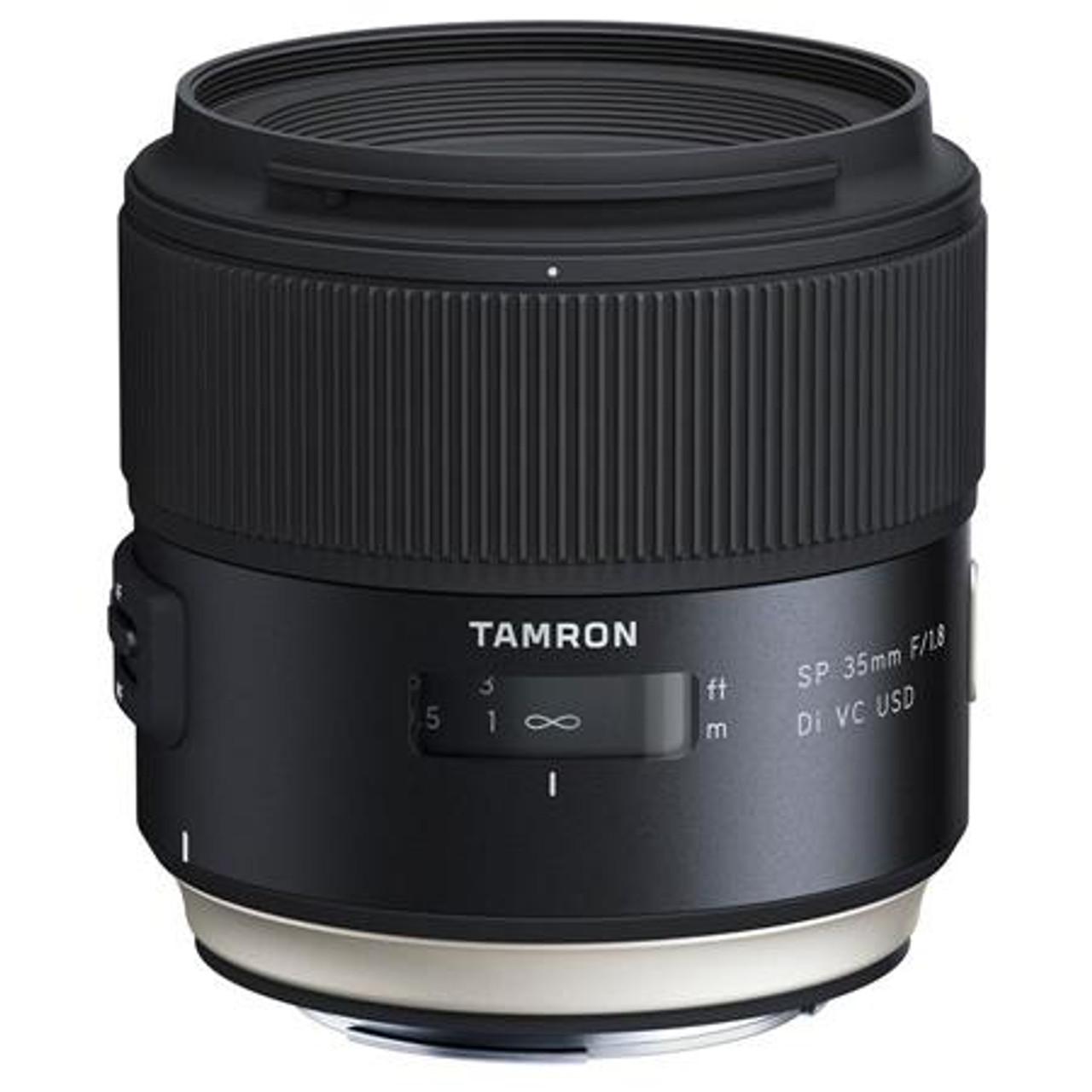 Tamron SP 35mm F/1.8 Di VC USD for Nikon Full Frame Digital SLR Cameras - U.S.A. Warranty