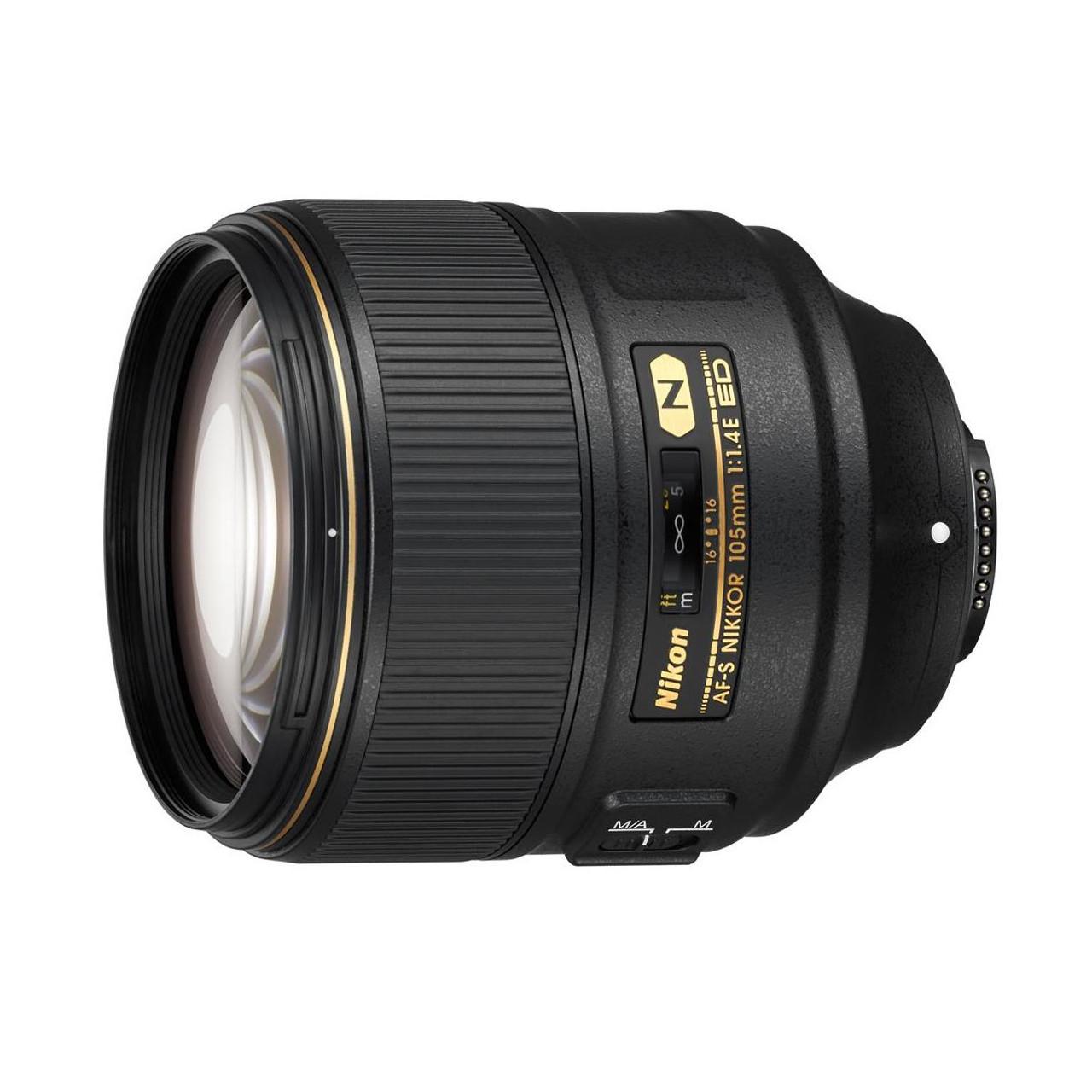 Nikon AF-S NIKKOR 105mm f/1.4E ED Telephoto Lens