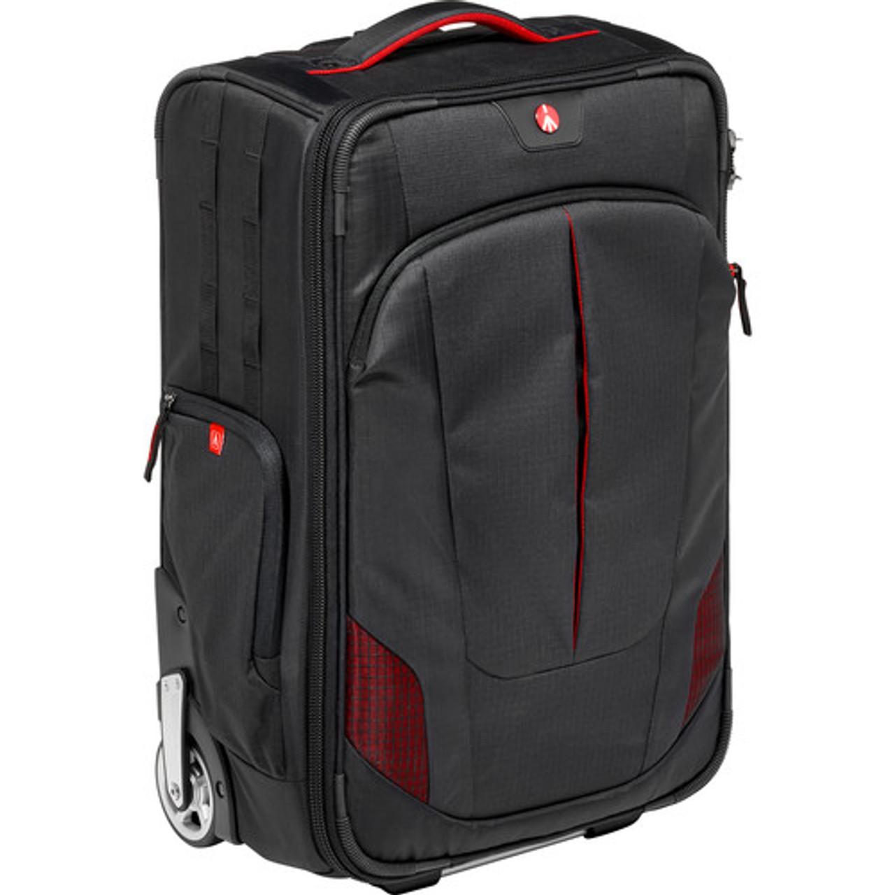 Manfrotto Pro Light Reloader-55 Camera Roller Bag for DSLR/Camcorder (Black)
