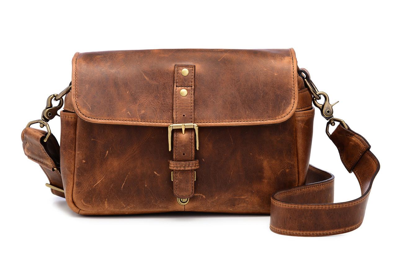 8d42938d7c1 Ona Bowery Leather Messenger Bag (Cognac) - Bedford Camera & Video