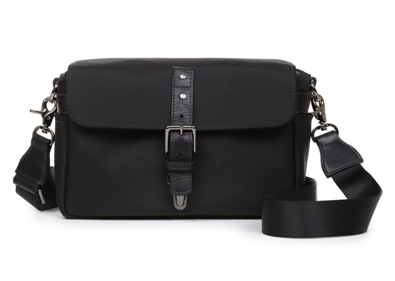 d5949c1421f Ona Bowery Nylon Messenger Bag (Black) - Bedford Camera & Video