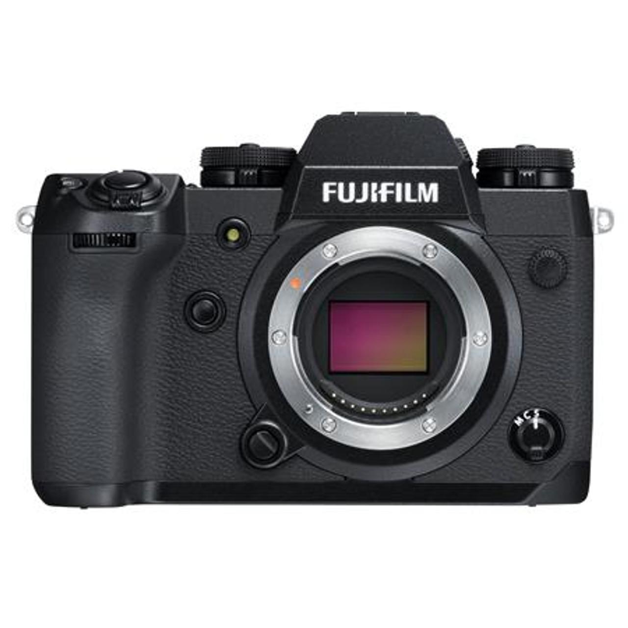 Fujifilm X-H1 Mirrorless Camera Body, Black