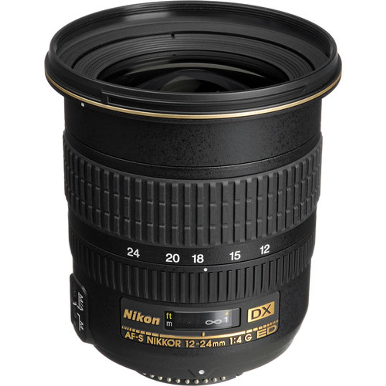 Nikon AF-S DX 12-24mm f/4G IF-ED Lens