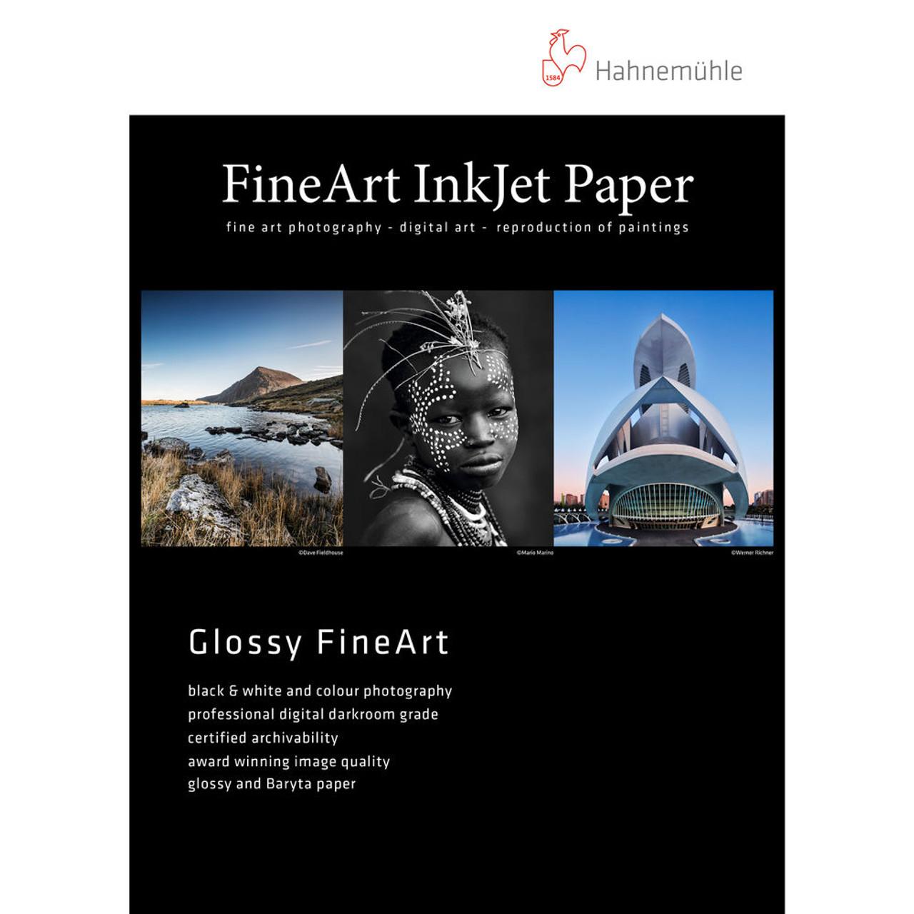"Hahnemühle Fine Art Inkjet Photo Paper Sample Pack 8.5 x 11/"" // 14 Sheets"