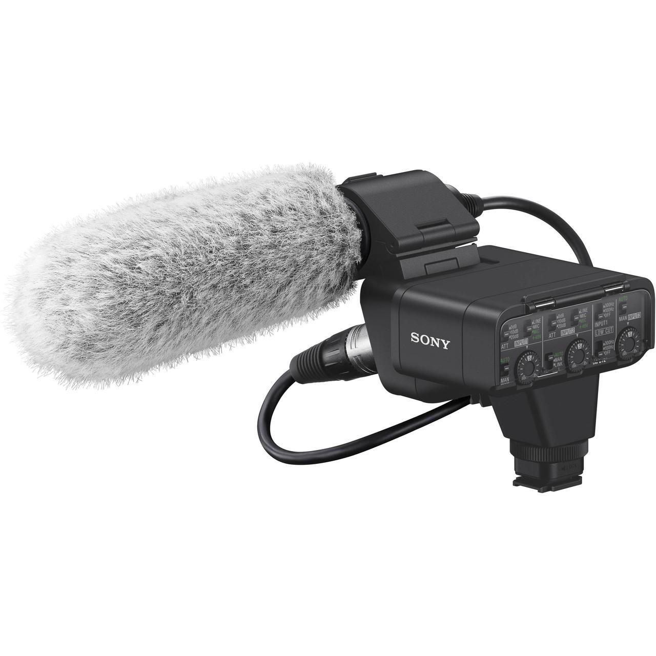 Sony XLR-K3M Dual-Channel Digital XLR Audio Adapter Kit with Shotgun Microphone