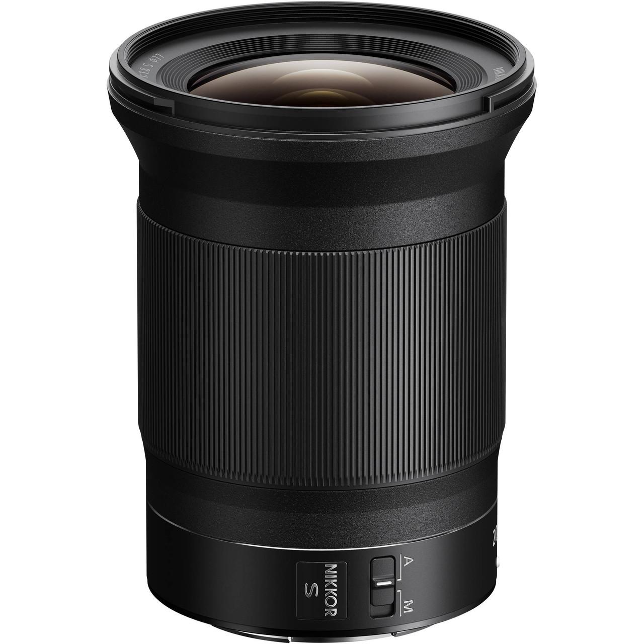 Nikon NIKKOR Z 20mm f/1.8 S Lens