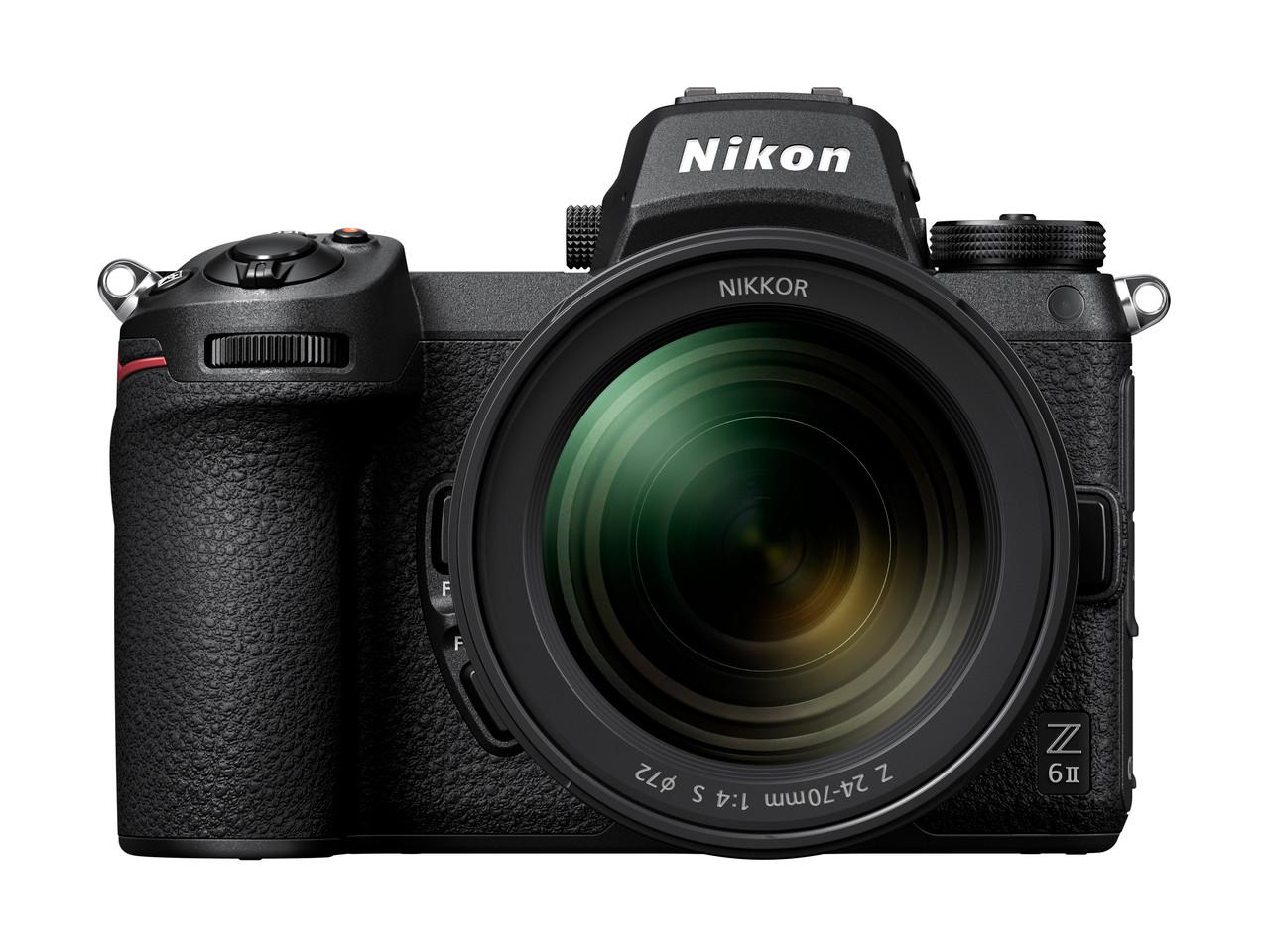 Nikon Z 6II FX-format Mirrorless Camera Body w/ NIKKOR Z 24-70mm f/4 S