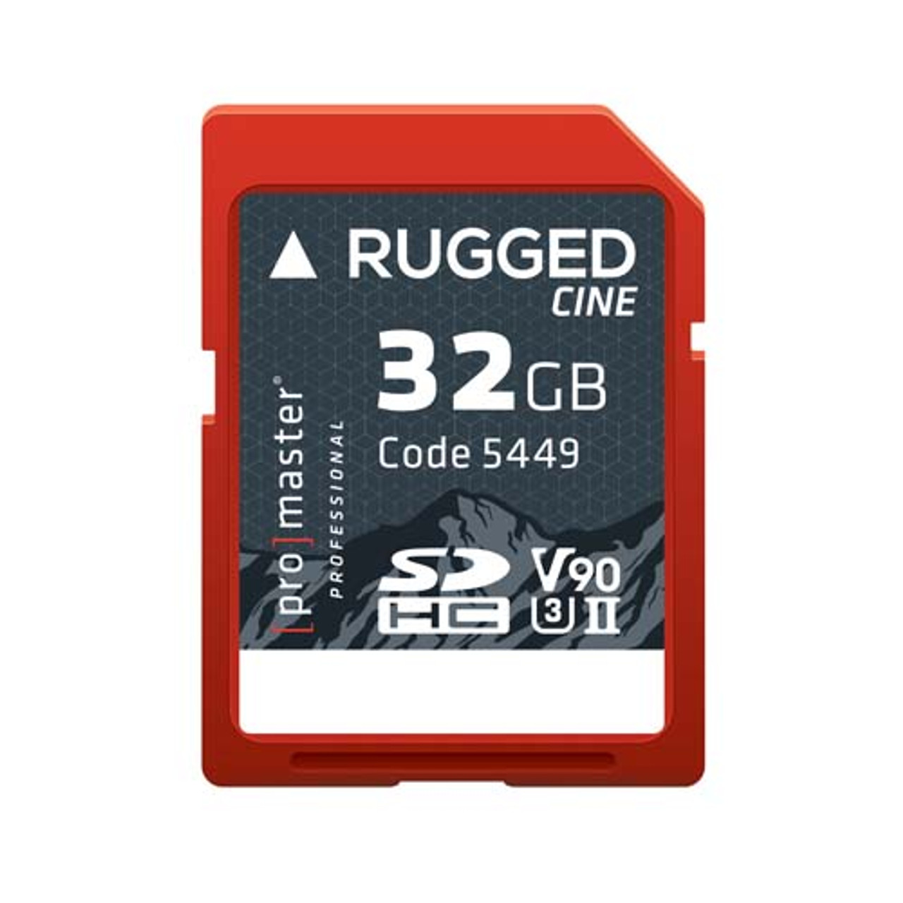 Promaster RUGGED Cine 32gb CINE UHS-II Memory Card