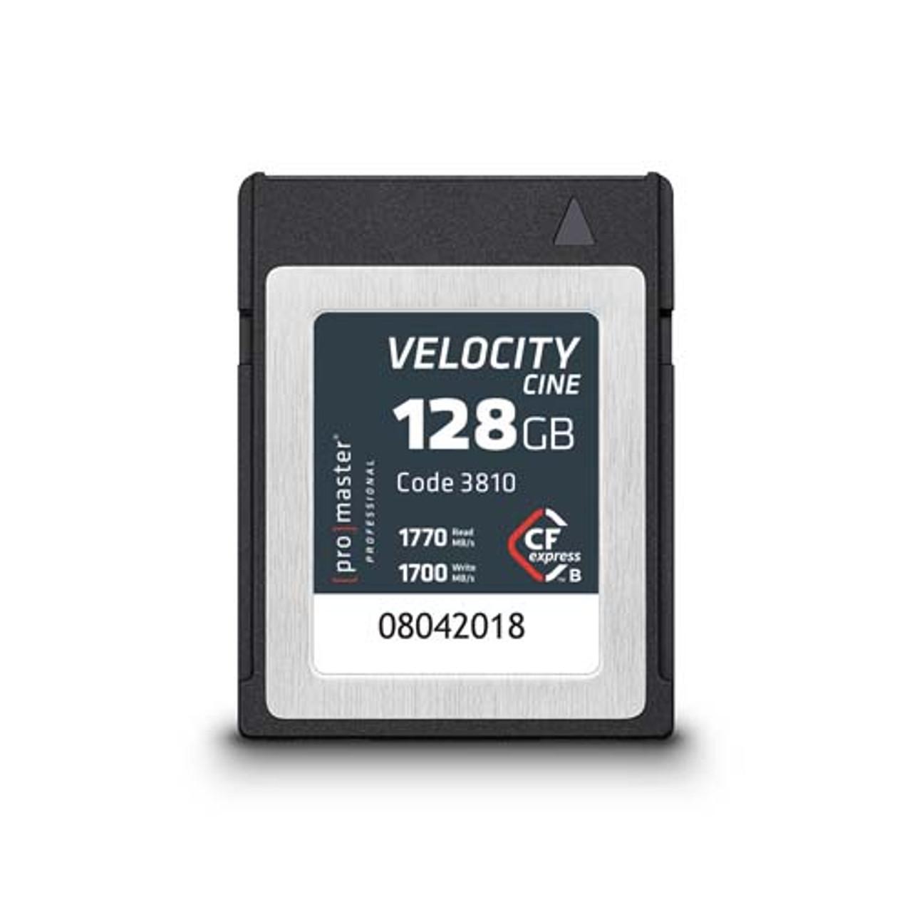 ProMaster CFexpress Type B 128GB Velocity Cine Card