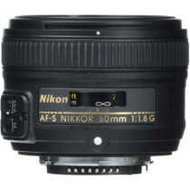Nikon AF-S NIKKOR 50mm f/1.8G Lens
