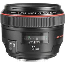 Canon EF 50mm f/1.2L USM Ultra-Fast Standard AutoFocus Lens, USA