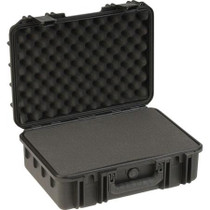 "SKB 3I-1711-6B-C Injection Molded Waterproof Case with Cubed Foam, 17x11.5x6"", Black"