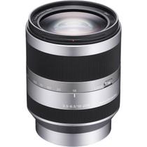 Sony 18-200mm f/3.5-6.3 OSS E-Mount Camera Lens, Silver