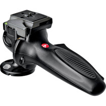 Manfrotto 327RC2 Lightweight Magnesium Body Joystick Head with Quick Release, Supports 12.1 lb., Black