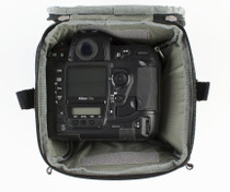 Think Tank Digital Holster 50 V2.0 - Holds Pro DSLR + 70-200 + Hood In Position